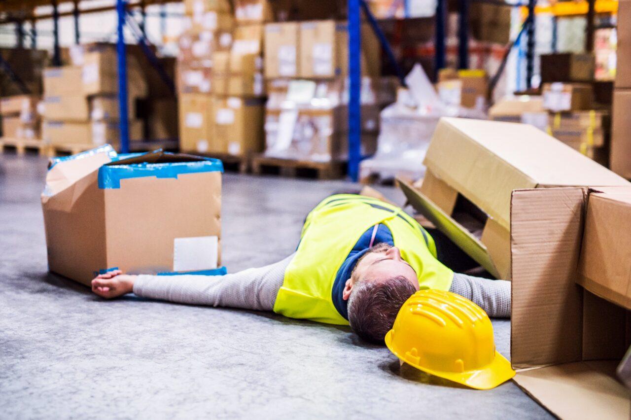 acidente de trabalho na empresa