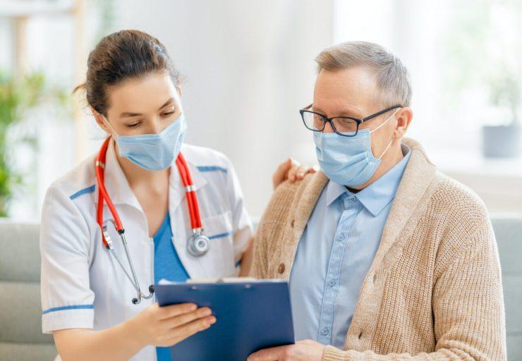 Trabalhador doente