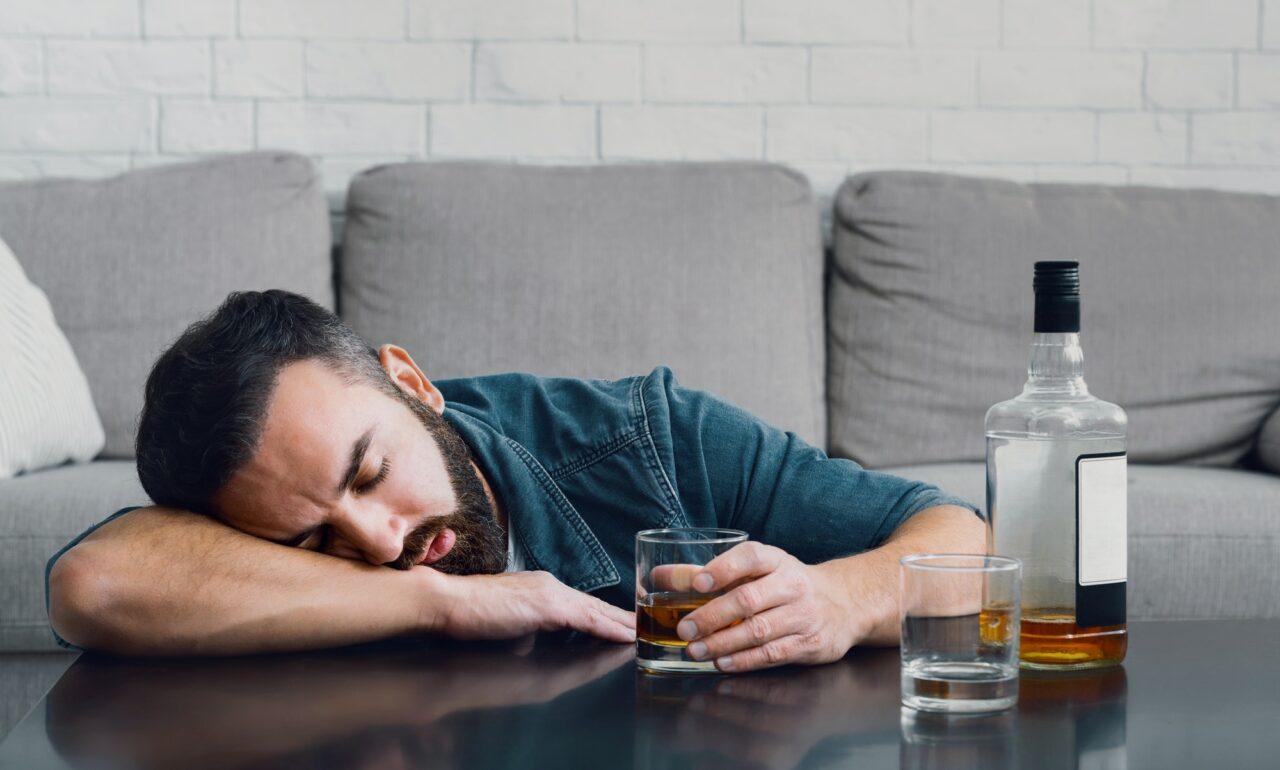 dependente de bebida